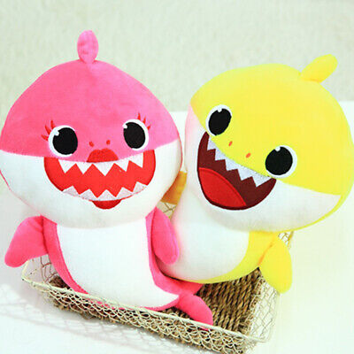 Baby Shark Plush Singing Plush Toys Music Song Doll English Toy  Gift CY2