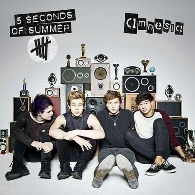 Cd 5 Seconds Of Summer Amnesia Brand New Sealed 2014