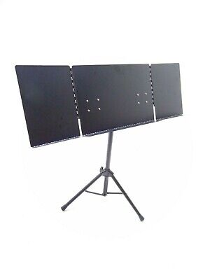 Quiklok Orchestra Sheet Music Stand With Folding Metal Desk-DAMAGED- RRP £66.95