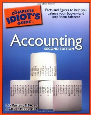 The Complete Idiot's Guide to Accounting (Complete Idiot's ... by Moore, Shellie