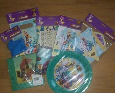 8 Guests Ultimate Animal Jam Jungle Birthday Party Essential Decoration Bundle