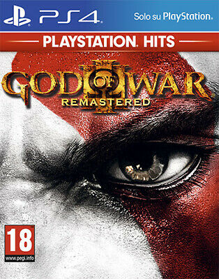 God Of War 3 Remastered PS Hits PS4 Playstation 4 SONY COMPUTER ENTERTAINMENT