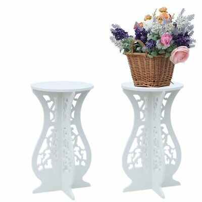 Coffee Tea Table White Wooden Magazine Flower Rack Sofa End Side Lamp Stand ou