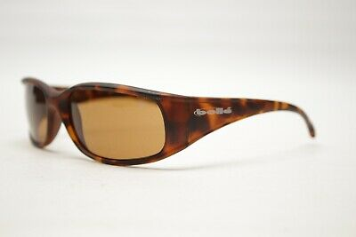 Bolle Indigo Sport Sunglasses Brown Tortoise Rextangle Wrap Made in France