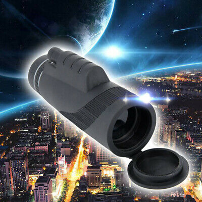 Newly 40*60 Telescope Day&Night Vision 40X Adjustable Zoom Monocular Camping Z