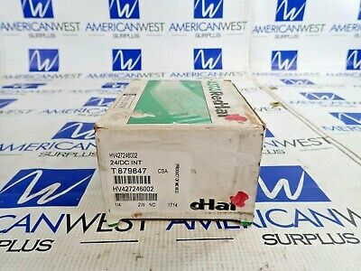 Asco Red-Hat Hv427246002 10.6 Watts  Pipe 1/4  Efht8016H1 Solenoid 50Psi