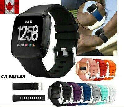 Sports Replacement Silicone Band Replacement Strap For Fitbit Versa Band Large