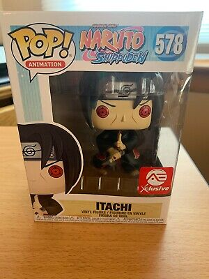 Funko Pop! Animation - Naruto - Itachi (AEC Exclusive) Figure 578 - In Protector