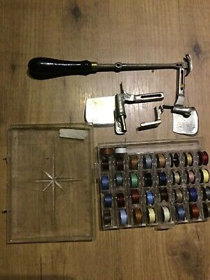Vintage  Sewing Machine PARTS & thread & bobbins