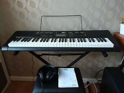 Casio CTK-2400 61-key Portable Keyboard Package with Headphones, stool & stand