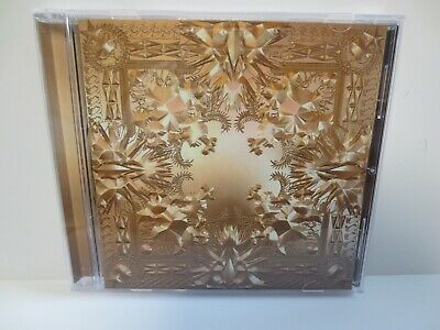 Jay Z ~ Kanye West ~ Watch The Throne ~ 2011 ~ Like New ~  Cd