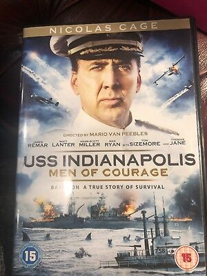 USS Indianapolis Men of Courage - Nicolas Cage - R2 DVD