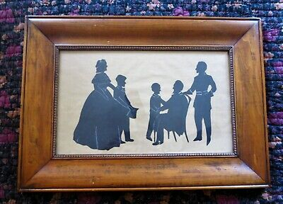 SILHOUETTE LINCOLN FAMILY Handcut BIRDS EYE CURLY TIGER MAPLE Abraham Mary Sons