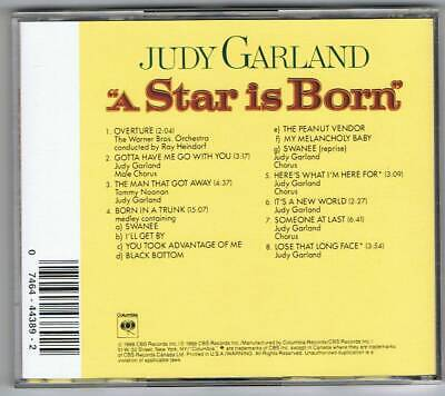 A Star Is Born (1954, Judy Garland) OST Film Soundtrack CD