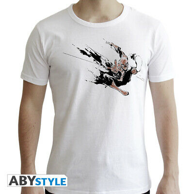 T-shirt - Marvel: Spider-man Ink White New Fit (extra-extra-large)