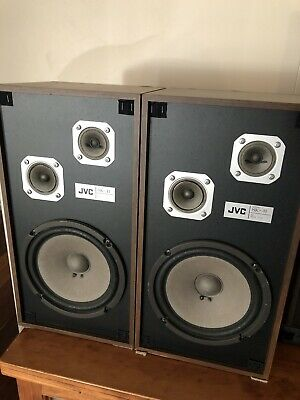 Jvc Speakers Sk-41 Vintage Golden Age Stereo  70w RMS 35 W Made In Japan