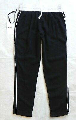 DKNY Girl's Black Tapered Leg Trousers Age 8 7-8y NEW