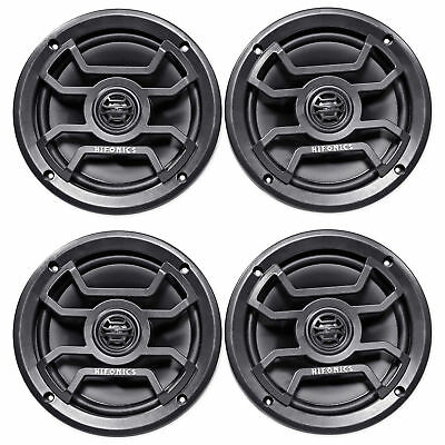"(4) Hifonics TPS-CM65B 6.5"" 480 Watt Marine Speakers For Boat/ATV/UTV/RZR/Cart"