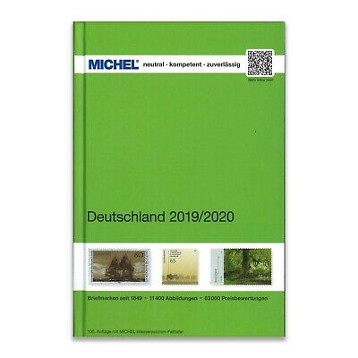 Michel Germany 2019/2020 Stamp Catalogue Full Colour Over 1000 Pages