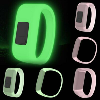 Replacement Luminous Silicone Watch Band Wristband for Garmin Vivofit 3/JR 2 AE