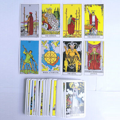The Most Popular Tarot Deck 78 Cards English Version Future Telling Sealed