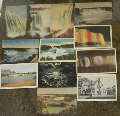(12) Vintage 1908 NIAGARA FALLS and Maid of the Mist  Post Card
