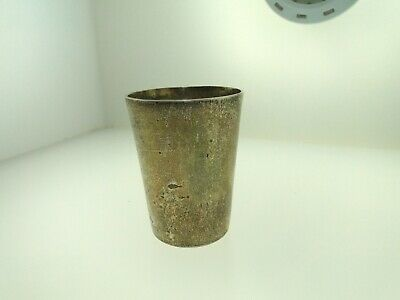 Beautiful Antique Sterling Silver Shot Glass