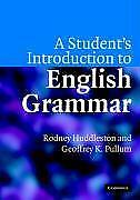 A Student's Introduction to English Grammar - 9780521612883