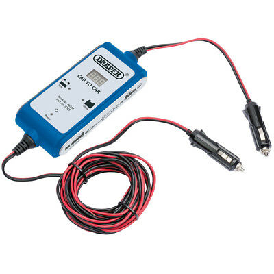 Draper 12V DC Vehicle to Vehicle Booster 46544 CAR TO CAR BATTERY BOOSTER