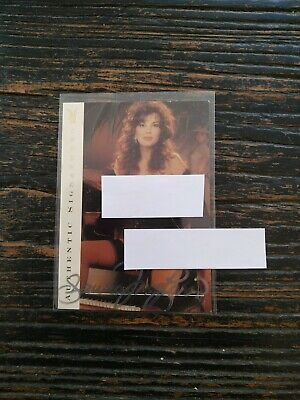 Playboy's Centerfold of the Century Card Fawna McLaren Model Authentic Signature