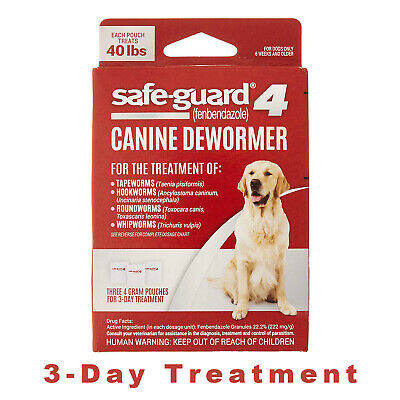 8in1 Safe-Guard Canine Dewormer for Large Dogs, 3-Day Treatment  Powder