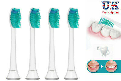 Philips Sonicare Standard Replacement Electric Toothbrush Heads 4 or 8 NEW
