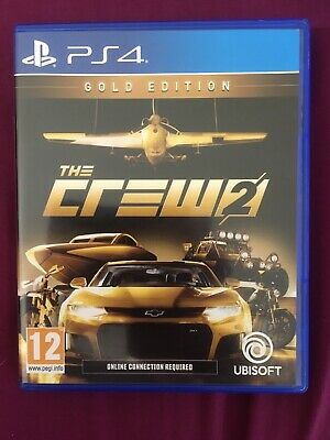 The Crew 2 - PS4 Sony PlayStation 4 - Video Racing Driving Game