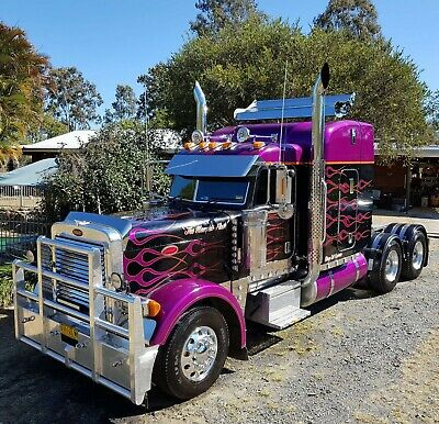 Truck Peterbilt not Kenworth Mack Volvo Western Star