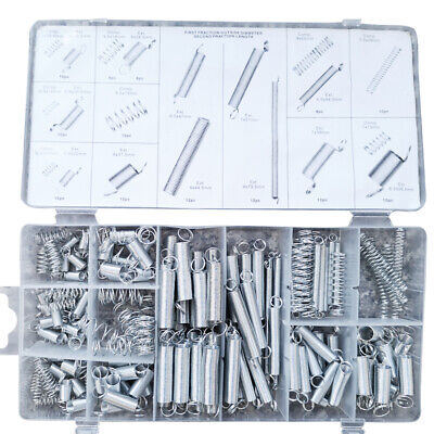200x Springs Tension Extension Compression Extended Compressed Assorted Set UK