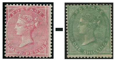 1855-1857 Surface Printed Sg 62-Sg 73 Average Used Condition Single Stamps