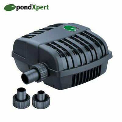 PondXpert MightyMite 1500L/h Pond Pump for running Filters Waterfalls Fountains