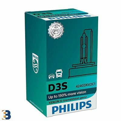 Philips D3S X-treme Vision Xenon Bulbi 42403XV2C1 singolo 150% in più View