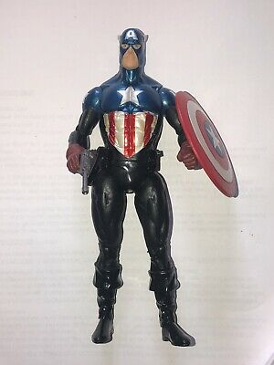 "Captain America Marvel Select Diamond 7"" Loose Bucky Barnes Figure Only"