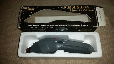 Star Trek Next Generation Phaser Universal Remote Control 1995