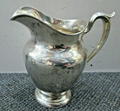 Gorham Old French Sterling Silver Water Pitcher 182 4 1/4 Pint