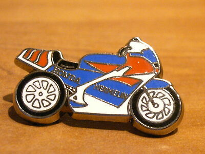 Pins Moto double attaches HONDA 750 RC 45 Hermelin