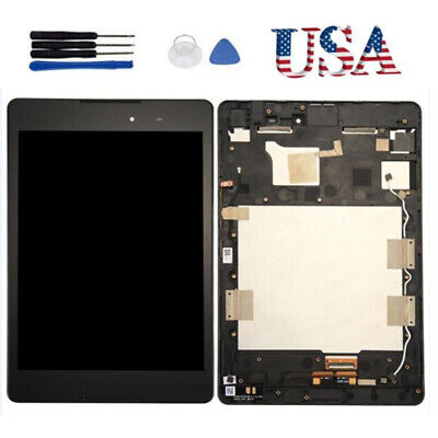 Black For ASUS Zenpad Z8 P008 ZT581KL LCD Display Screen Touch Digitizer + Frame