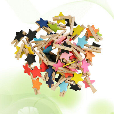 100pcs Message Note Memo Card Postcard Photo Pins Holder Clamps for Decoration