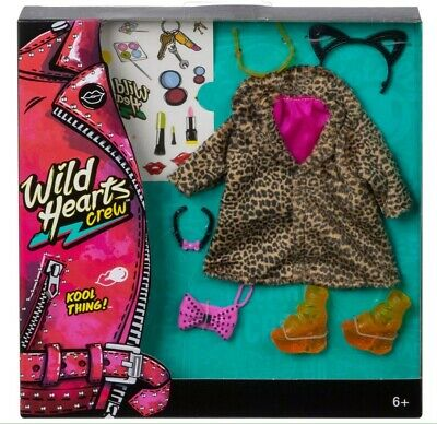 Wild Hearts Crew Kool Thing ! Leopard Coat Shoes Accessories Fashion Pack New