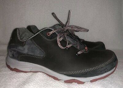 Ahnu Sugar Venture Lace Walking Shoes Women 8.5 Twilight Gray $129.95 Trail Hike