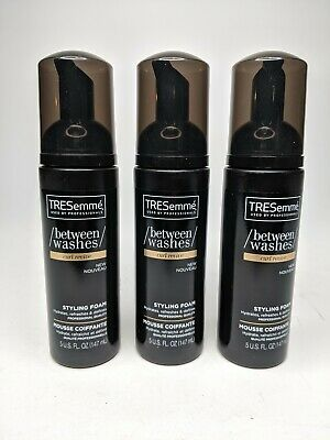 TRESEMME BETWEEN WASHES STYLE FOAM CURL REVIVE 5 Ounce - Lot of 3