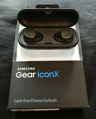 Samsung Gear IconX In-Ear Only Wireless Headphones - Black - Genuine