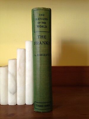 The Nations of the World – The Franks published by T Fisher Unwin with Map