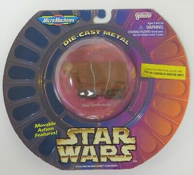 New Galoob Micro Machines Star Wars Jawa Sandcrawler Vehicle Sealed 1996